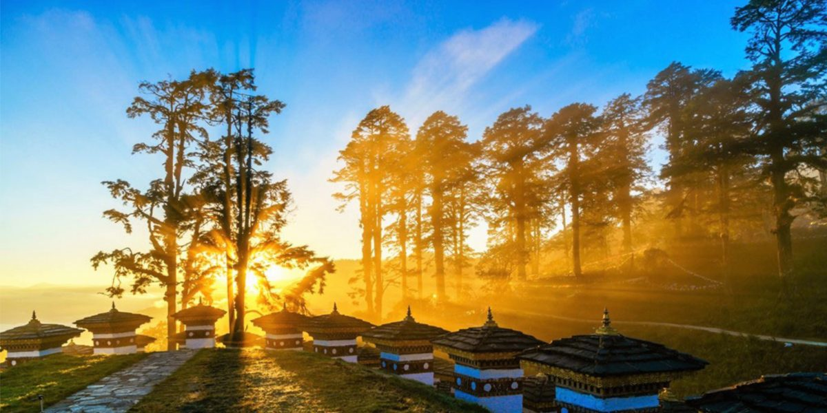 Tour with Bhutan Concierge to see the sun rise on Dochu La Pass