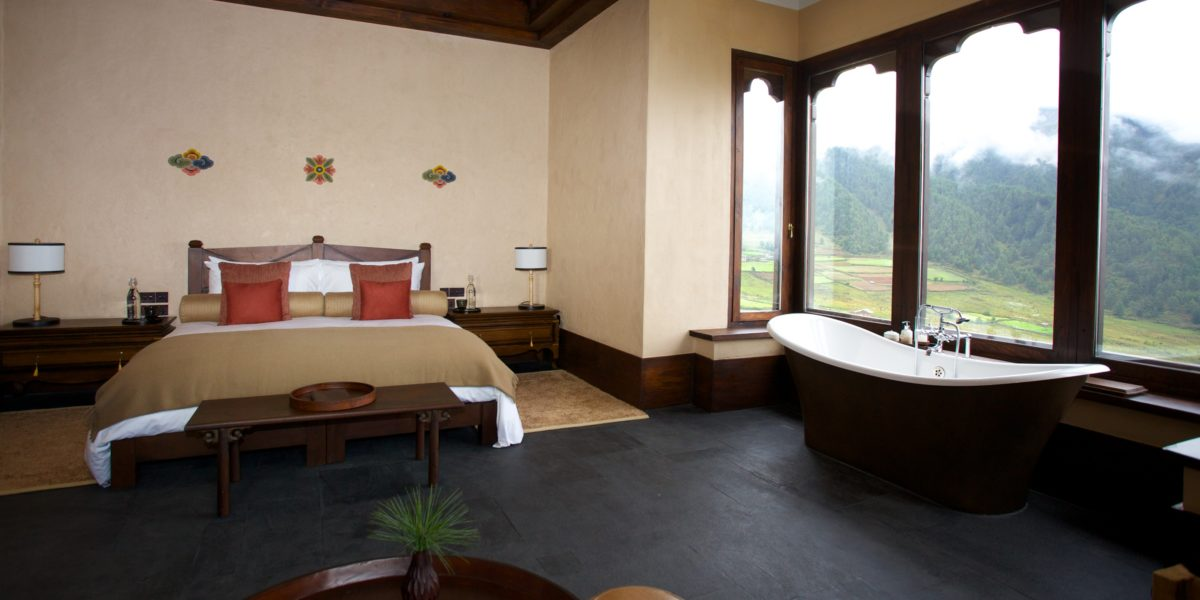 Gangtey Lodge, room 2