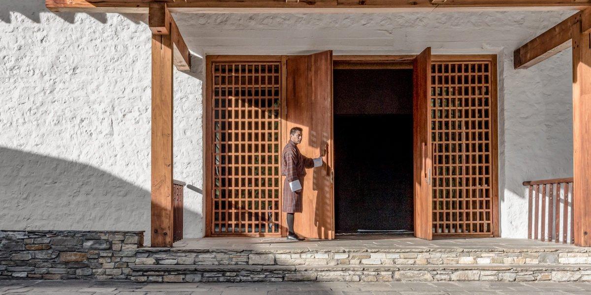 Amankora, Paro Lodge, Main Courtyard and Entrance