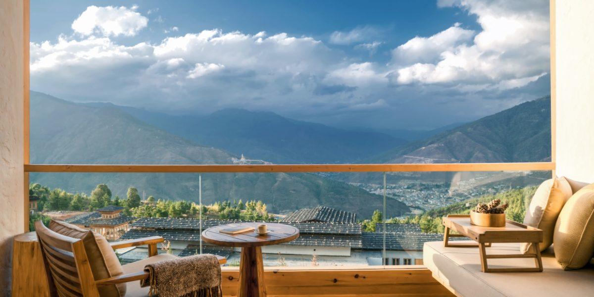 Six Senses, Thimphu Lodge, Suite balcony
