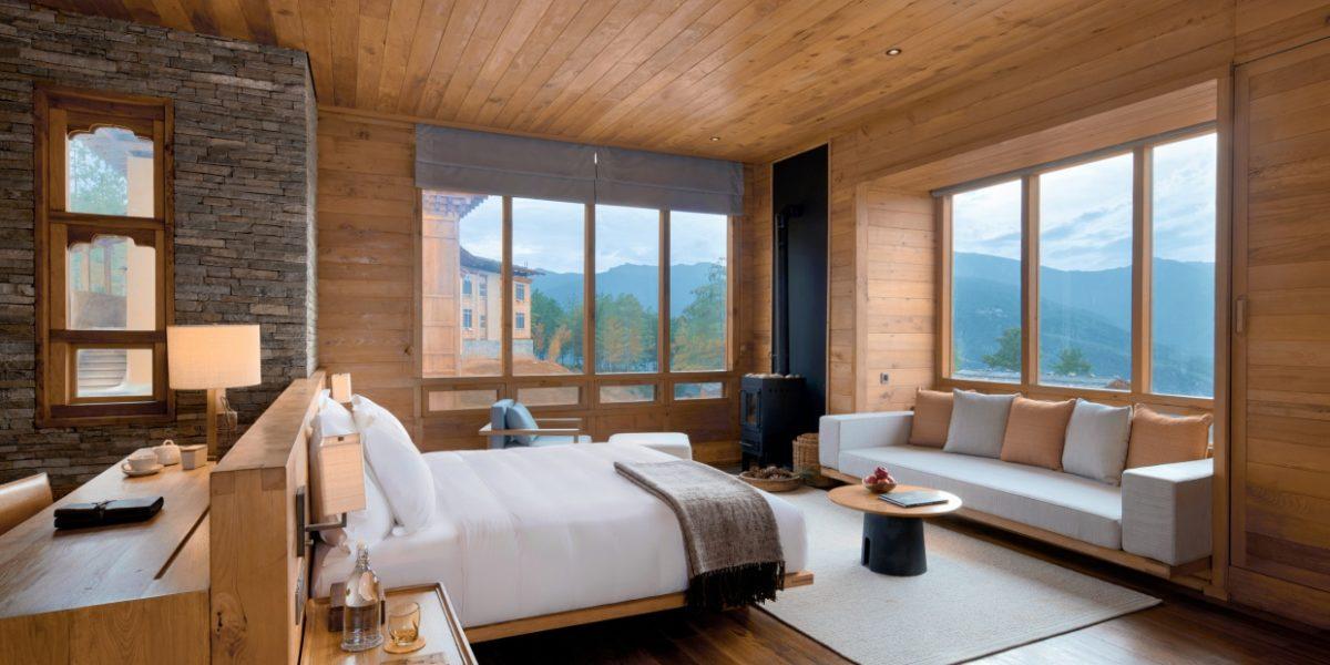 Six Senses, Paro Lodge, Suite bedroom
