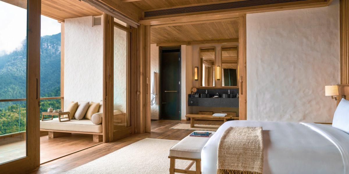 Six Senses, Thimphu Lodge, Suite bedroom