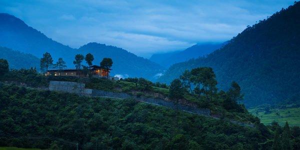 Uma, Punakha, hotel by night