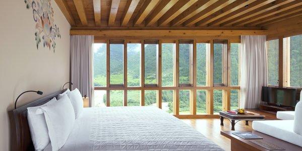 Uma, Punakha, Valley view room