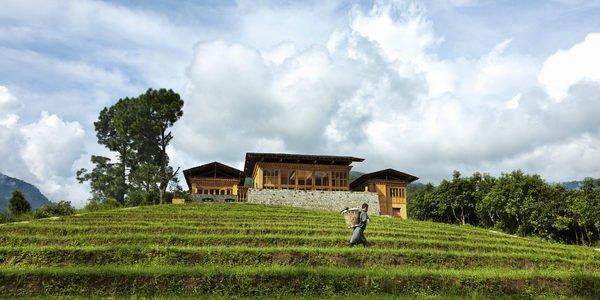 Uma, Punakha, Exterior view by day