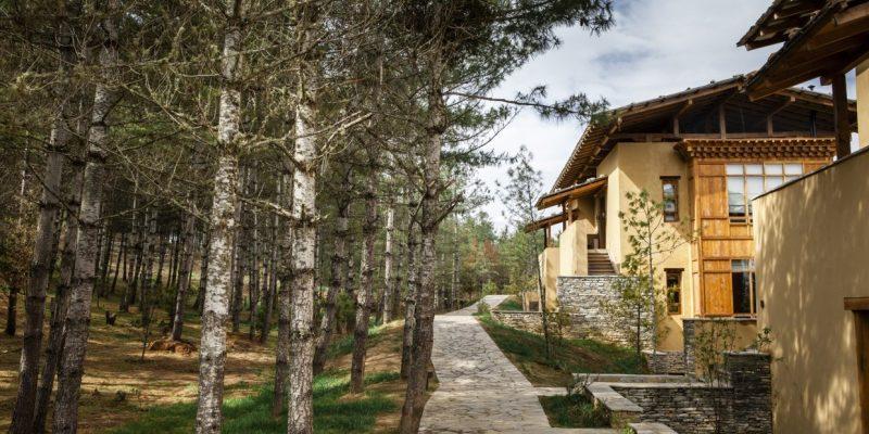 Six Senses, Paro Lodge, Exterior Walkways