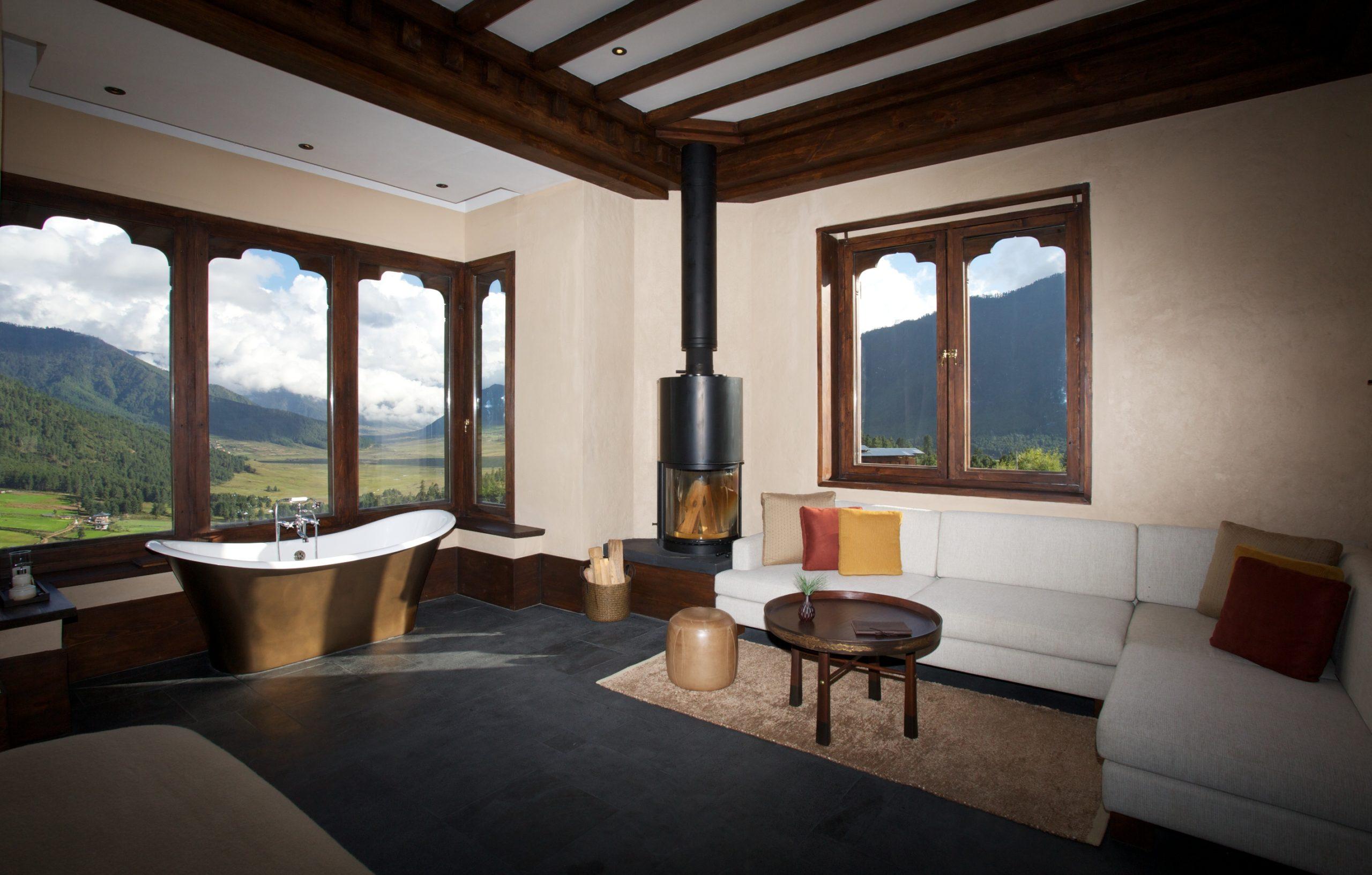 Gangtey Lodge, room 1
