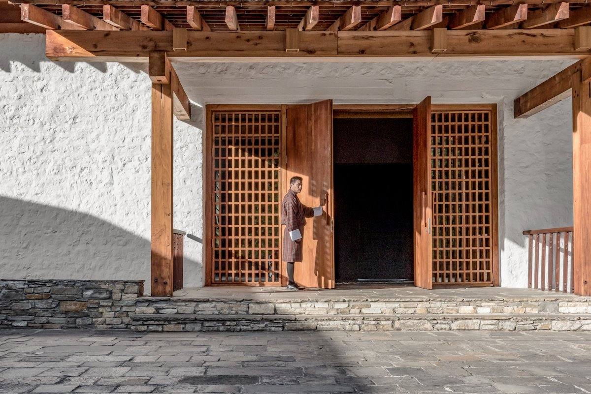 Amankora, Paro Lodge, Main Courtyard and Entrance