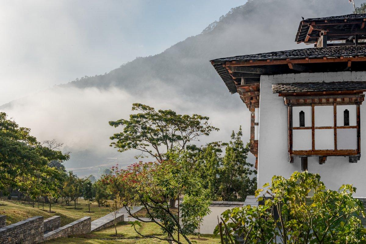 Amankora, Punakha Lodge, Farmhouse Back Side