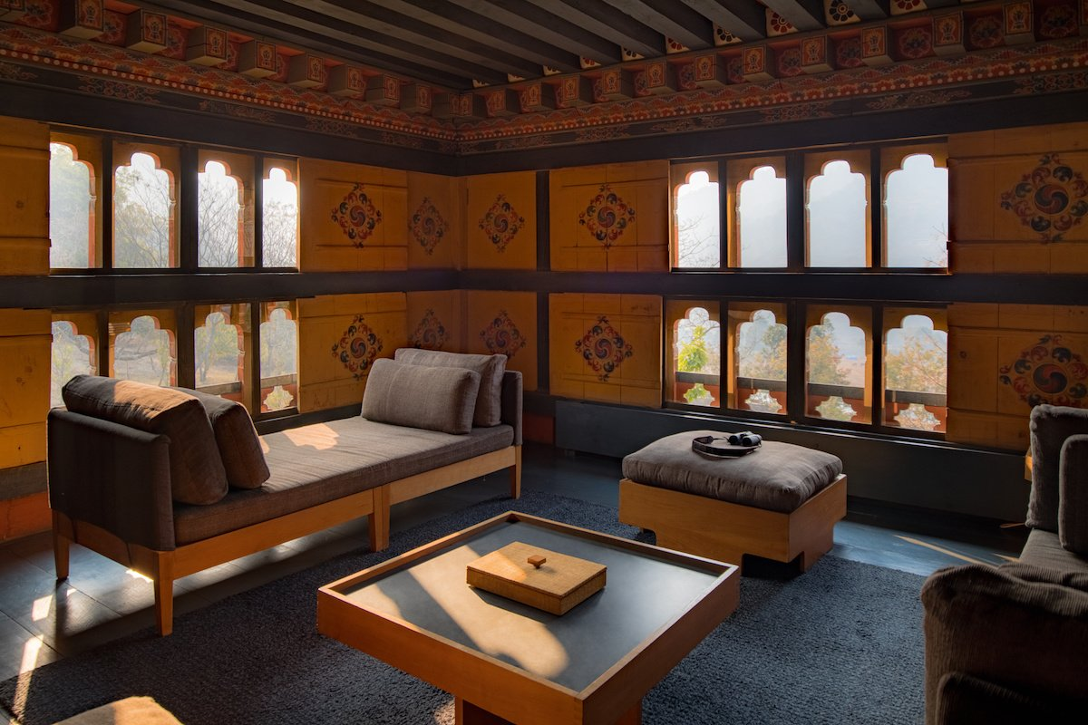 Amankora, Punakha, Peaceful library