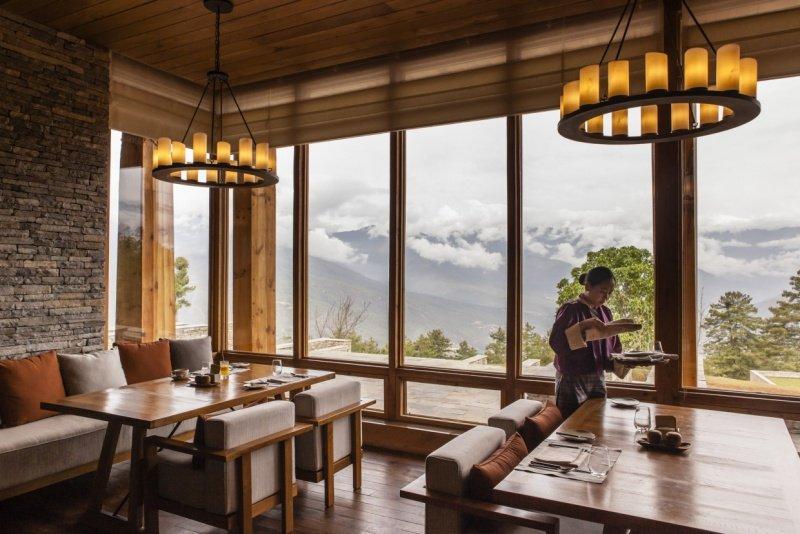 Six Senses, Paro Lodge,Living Room