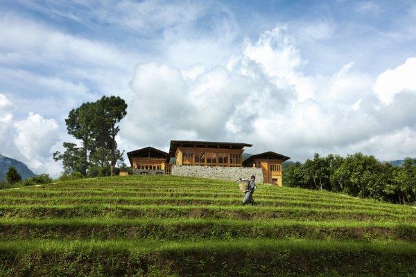 Uma, Punakha Lodge, Exterior view