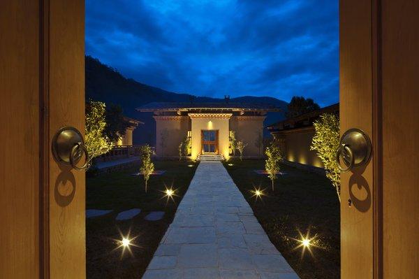 Uma, Punakha, Entrance