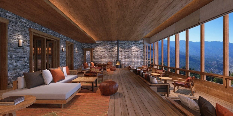 Six Senses, Paro, Main Facilities,Living area