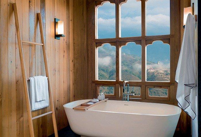 Six Senses, Thimphu Lodge, Bathroom