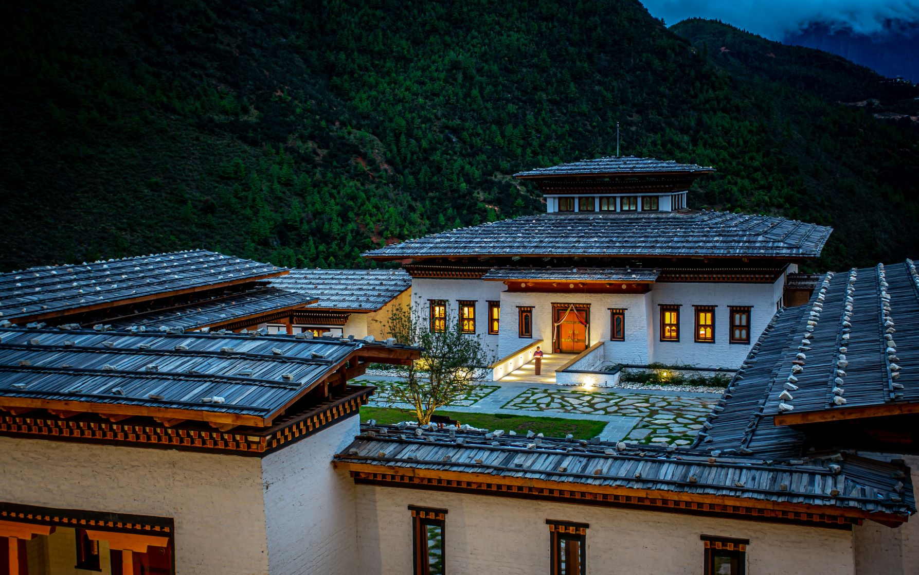 Bhutan Spirit Sanctuary - Birdview