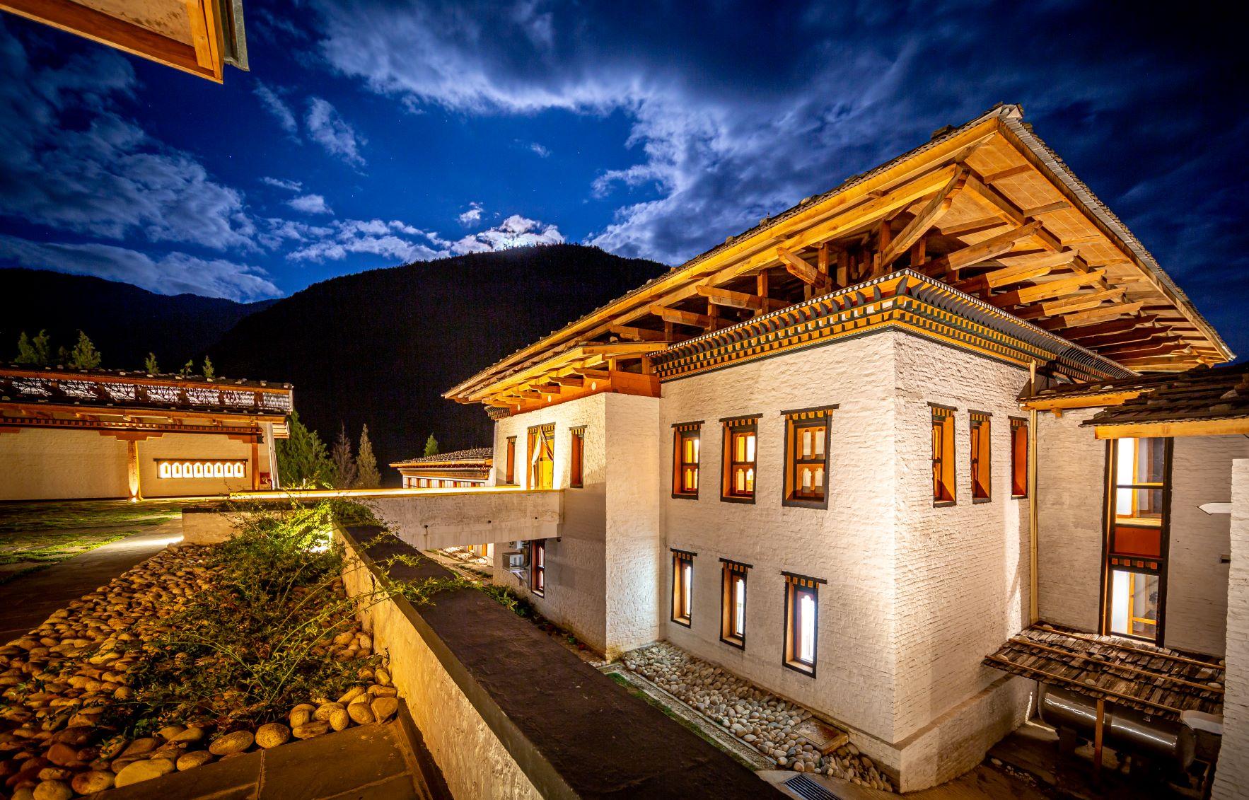 Bhutan Spirit Sanctuary - by night