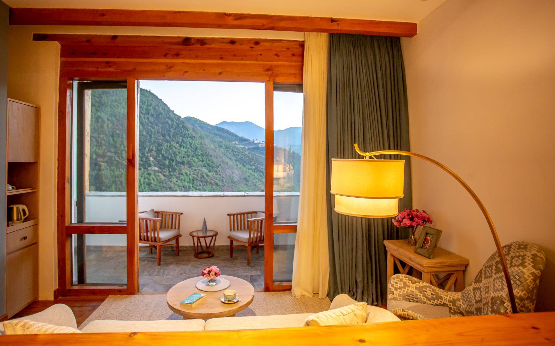 Bhutan Spirit Sanctuary - Balcony Room