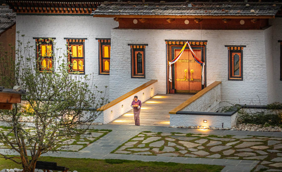 Bhutan spirit sanctuary - Arrival