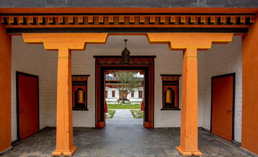 Bhutan Spirit sanctuary - Entrance