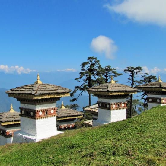 Dochu La Pass - Top Attractions of Bhutan