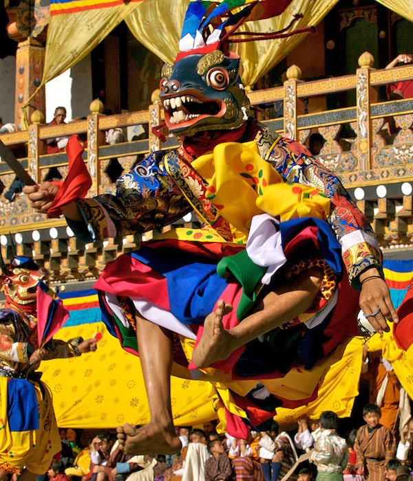 Punakha Drubchen and Tshechu - top 3 festivals